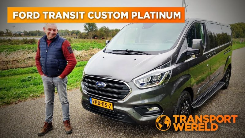 Ford Transit Custom Platinum Edition