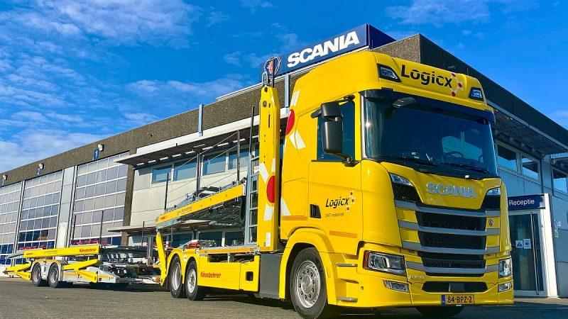 Logicx zet drie nieuwe Scania's in voor repatriëring