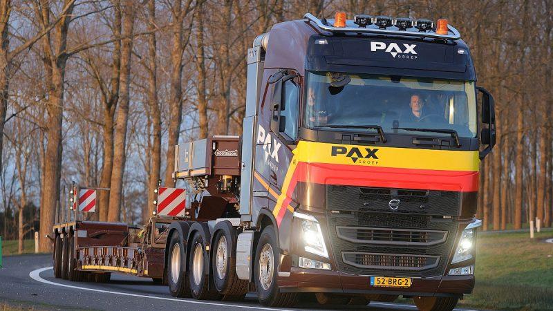 Nieuwe Volvo's voor PAX Bouw- en Industrieservice