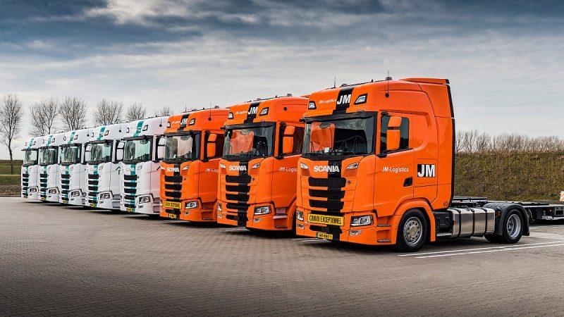 Zeventien Scania's voor JM Logistics en Rutges