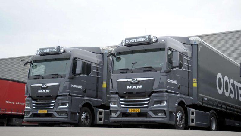 Nieuwe MAN TGX voor Koninklijke Oosterberg Apeldoorn