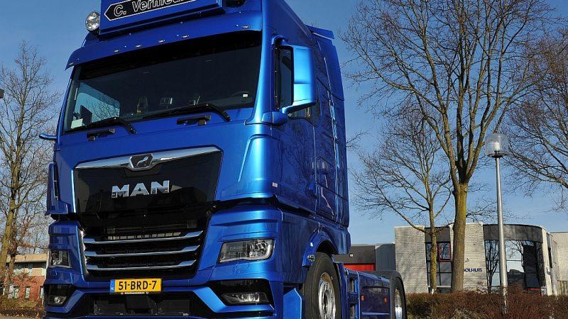Coan Transport onder de indruk van de nieuwe MAN