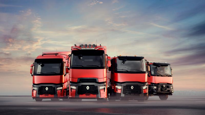 Vernieuwingen voor gefacelifte Renault trucks