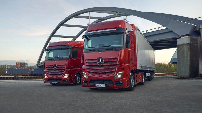 Actros L:  het nieuwe topmodel van Mercedes