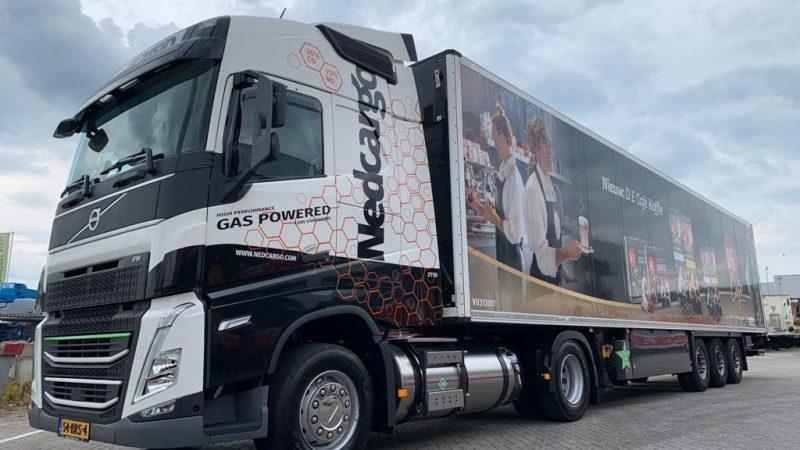 Volvo op LNG in pendeldienst Nedcargo